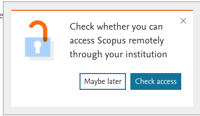 check your institution on scopus